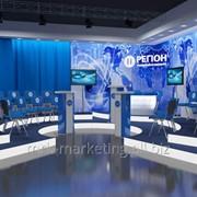 Дизайн телестудии фото
