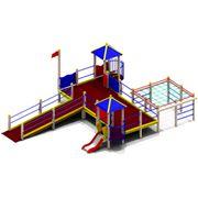 Комплексы детские игровые для детей с ограниченными физическими возможностями фото