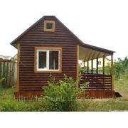 Дачный летний домик фото