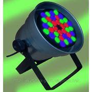 Прожектор сценический RGB светодиодный. 36 Вт /220V/12V. 2700Lm.