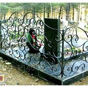 Оградки кованые на кладбище в Старом Осколе,Губкине от ЗДК фото