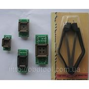 PLCC20 + PLCC28 + PLCC32 + PLCC44 + PLCC IC Extractor Kit Programmer Adapter фото