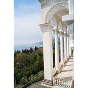 Арки с колоннами. фото