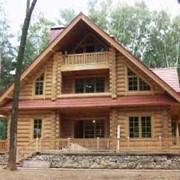 Строительство деревянных домов. фото