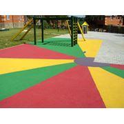 Покрытия для детских площадок фото