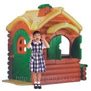 Детский домик из пластика Избушка фото
