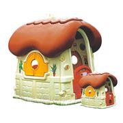 Детский пластиковый домик Грибок фото