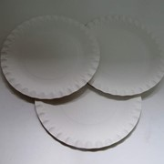 Тарелки бумажные одноразовые фото