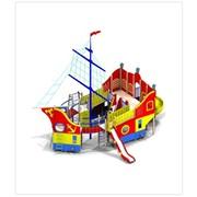 Детский игровой комплекс ДИК 1-мачтовый Шхуна (5688) фото