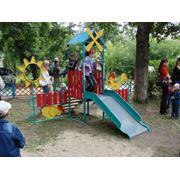 Игровой комплекс для детей Подсолнух фото