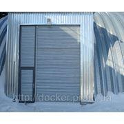 Ворота рулонные Hardwick промышленные с калиткой фото