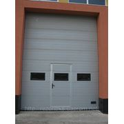 Ворота секційні промислові сталеві KRISPOL фото
