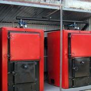 Котлы водогрейные промышленные на твердом топливе. фото