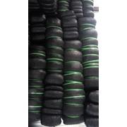 Черная затеняющая сетка 90% фото