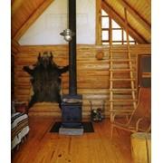 Огнезащита деревянных конструкций. фото