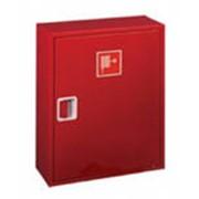 Шкаф пожарный навесной ШП-01Н (ШПК-310Н) без окна красный/белый (540х650х230) фото