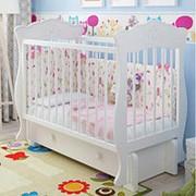 Детская кроватка «Elena» (Елена) Маятник+2 Ящика+Робот фото
