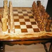 Шахматы ручной работы фото