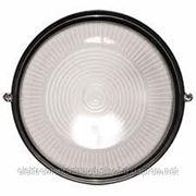 Светильник НПП1301 черный/круг 60Вт IP54