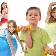 Детский фитнес фото