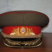 Фуражка Гениральская парадная СССР производство форменных головных уборов фото