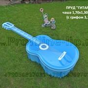 """Пруд пластиковый  """"Гитара"""" садовый в Липецке фото"""