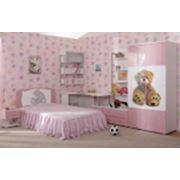 Детская комната «Бьянка» (розовый мишка) фото