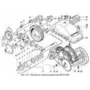 Механизм самопередвижения ЗП 07.000 запасные части и агрегаты к зернометателю самопередвижному ЗМ-60 фото