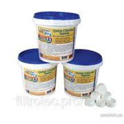 Хлорные таблетки для бассейна Crystal Pool Quick Chlorine Tablets 1 кг фото