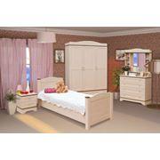 Мебель для детской спальни «Белоснежка» фото