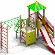 Уличный спортивно-игровой комплекс Тайга для детей 6-12 лет фото