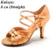 Dance Me Обувь женская для латины 0805, кедр сатин фото