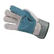Перчатки комбинированные со спилком, усиленные (Докер) фото