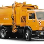 Автомобиль коммунальные мусоровозы КО-440-5 фото