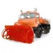 Фрезерно-роторный снегоочиститель КО-816-1 (шасси КАМАЗ-43118 6х6) фото