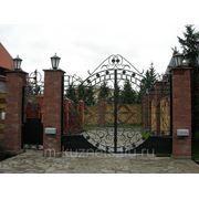Ворота распашные ивановская обл ворота с кнопкой смайл гейт
