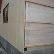 Установка вентилируемого фасада фото