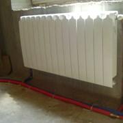 Монтаж отопления, водопровода, канализации фото