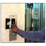Установка СКУД в лифт, лифт по ключам фото