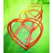 Велопарковка Сердце 1 фото