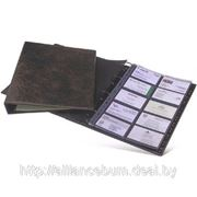 Визитница на кольцах A4 Durable, 400 карточек фото