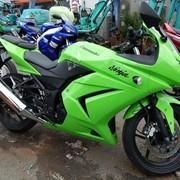 Мотоцикл спортбайк No. B4983 Kawasaki NINJA 250R фото