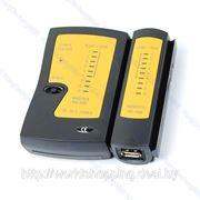 Тестер сетевого кабеля RJ11 RJ45 USB. фото