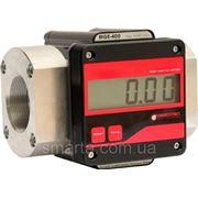 MGE 400 - электронный расходомер учета большого протока дизельного топлива, масла, 15-400 л/мин фото