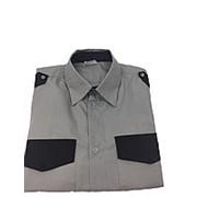 Рубашка охранника № 19, длинный рукав. Размер 50 фото