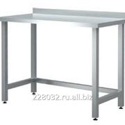 Стол пристенный с нижней обвязкой серии 600 Chef СРП 16/6 фото