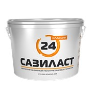 Герметик двухкомпонентный полиуретановый Сазиласт 24 серый, 16,5кг фото