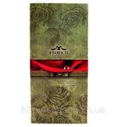 Три долгосвежие розы FLORICH в подарочной упаковке. Алый рубин 5 карат, средний стебель. Харьков фото