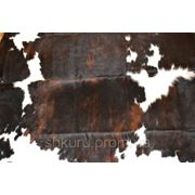 Шкура коровья бело-коричневый (рыжый) купить