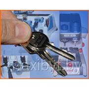 Изготовление дубликата ключа полукруглый, плоский фото